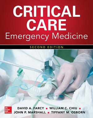 Critical Care Emergency Medicine  Second Edition PDF