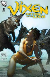 Vixen: Return of the Lion (2008-) #2