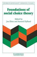 Foundations of Social Choice Theory PDF