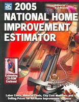 2005 National Home Improvement Estimator PDF