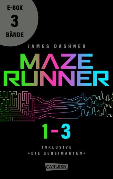 Die Auserwahlten Band 1 3 Der Nervenzerfetzenden Maze Runner Serie In Einer E Box