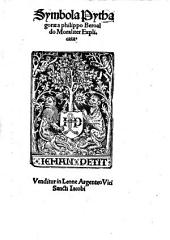 Symbola Pythagorae a philippo Beroaldo Moraliter Explicata