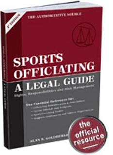 Sports Officiating Book