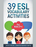 39 ESL Vocabulary Activities  For Kids  7   PDF