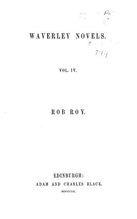 Waverley Novels PDF