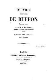 Oeuvres complètes de Buffon: Volume8