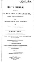 The Holy Bible  Old Testament   v  3  New Testament PDF