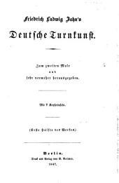 Deutsche Turnkunst. Zum 2. Male verm. hrsg