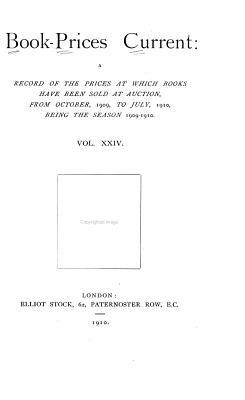 Book prices Current PDF