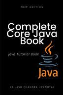 Complete Core Java Tutorial Book