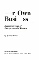 Her Own Business PDF
