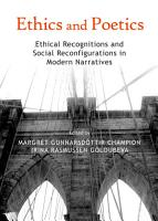 Ethics and Poetics PDF