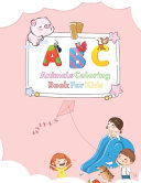 A B C Animals Coloring Book For Kids