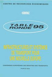 Tables Rondes CEMT Infrastructures et systèmes de transport pour une nouvelle Europe Rapport de la quatre-vingt-quinzième table ronde d'économie des transports tenue à Paris les 18-19 mars 1993: Rapport de la quatre-vingt-quinzième table ronde d'économie des transports tenue à Paris les 18-19 mars 1993