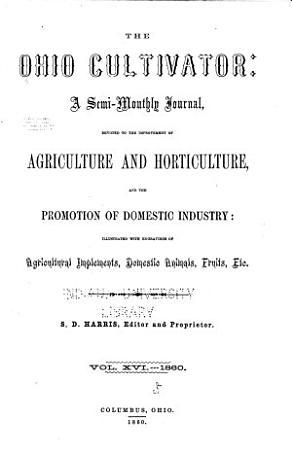 The Ohio Cultivator PDF