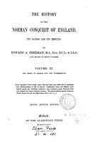 The History of the Norman Conquest of England  The reign of Harold and the interregnum PDF
