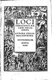 Loci theologici: recens recogniti