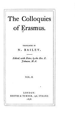 The Colloquies of Erasmus PDF