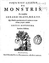 Fortunius Licetus De monstris