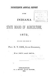 Annual Report of the Indiana State Board of Agriculture