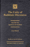 The Unity of Rabbinic Discourse: Aggadah in the halakhah