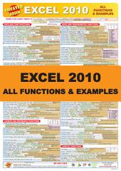 Excel 2010 All Functions and Examples