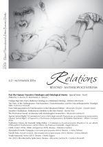 Relations. Beyond Anthropocentrism - Vol. 4, No. 2 - November 2016