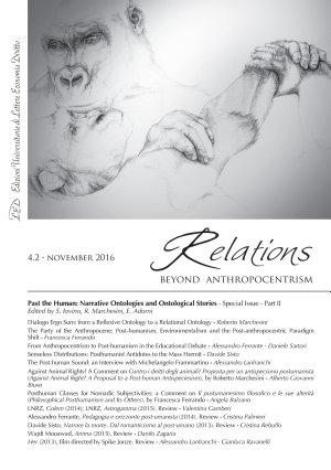 Relations  Beyond Anthropocentrism   Vol  4  No  2   November 2016