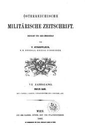 Streffleurs militärische Zeitschrift: Band 1;Band 3