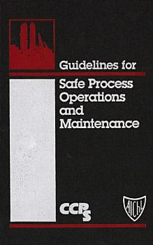 Guidelines for Safe Process Operations and Maintenance PDF