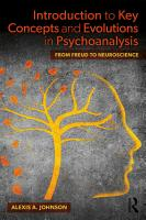 Introduction to Key Concepts and Evolutions in Psychoanalysis PDF