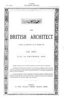 The British Architect PDF