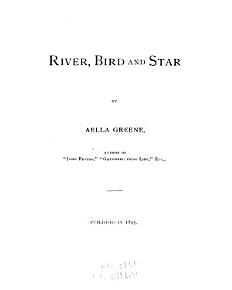 River  Bird  and Star PDF