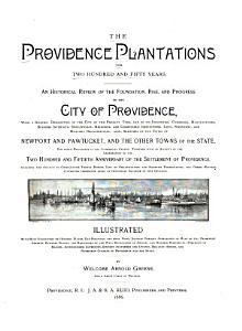 The Providence Plantations for Two Hundred and Fifty Years PDF
