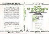 """Islam et nationalisme en Algérie: d'après """"El Moujahid"""", organe central du FAE de 1956 à 1962"""
