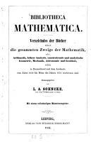 Bibliotheca mathematica PDF