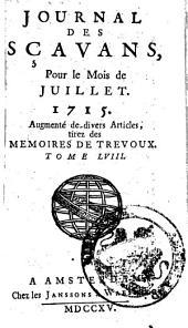 Journal des sçavans: Volume67