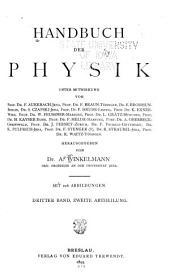 Handbuch der physik: Bd. 1.-2.Abth. Elektricität und Magnetismus