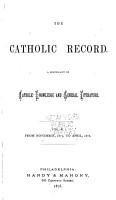 The Catholic Record PDF