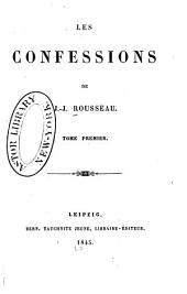 Les confessions: Volume1