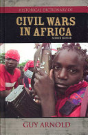 Historical Dictionary of Civil Wars in Africa PDF