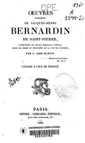 Oeuvres complètes de Jacques-Henri-Bernardin de Saint-Pierre: Volume2