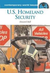 U.S. Homeland Security: A Reference Handbook