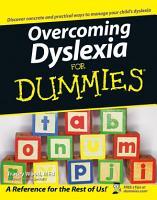 Overcoming Dyslexia For Dummies PDF