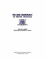 Ice Age Mammals of North America