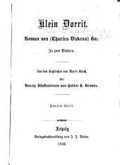 Klein Dorrit: Roman in zwei Büchern, Bände 5-6