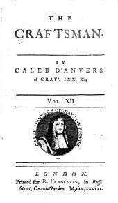 The Craftsman: Volume 12