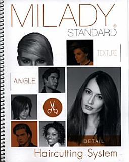 Milady Standard Haircutting System Book