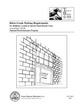 Below-Grade Parking Requirements for Buildings Located in Special Flood Hazard Areas in Accordance with the National Flood Insurance ProgramREQUIREMENTS