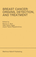 Breast Cancer  Origins  Detection  and Treatment PDF